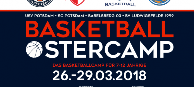 Der BVL beim Basketball-Ostercamp in Potsdam