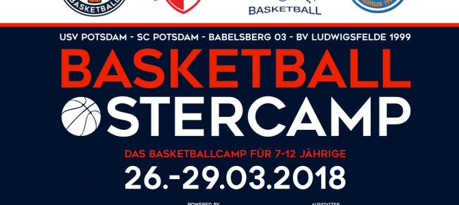 Der BVL beim Basketball-Ostercamp in Potsdam
